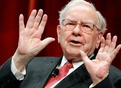 Warren Buffett, Donadl Trump, vay nợ