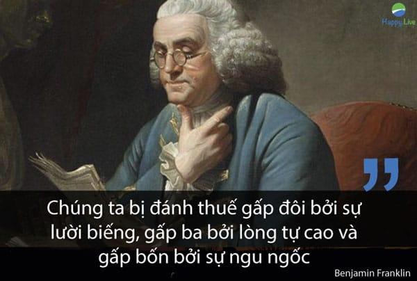 con đường làm giàu, Benjamin Franklin