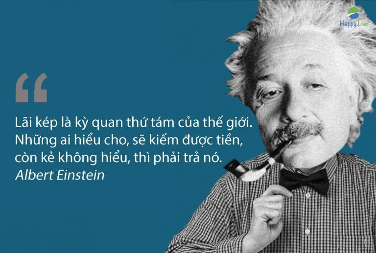 lãi kép, Albert Einstein