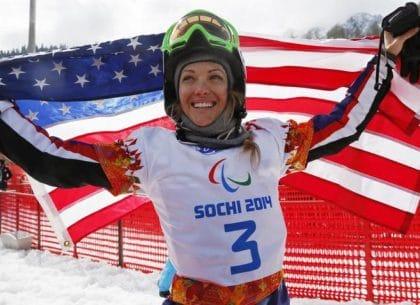 VĐV trượt tuyết Amy Purdy