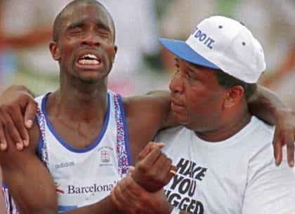 Derek Redmond, Olympic 1992