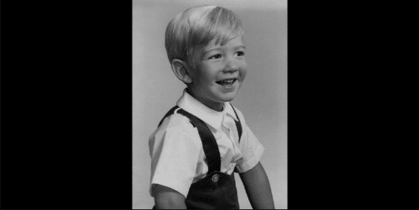 Jeff Bezos thời thơ ấu.