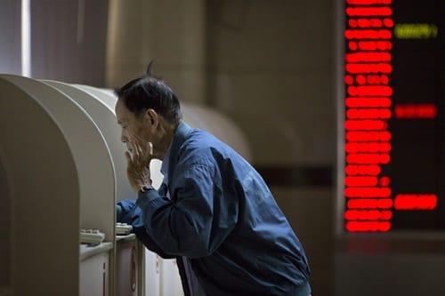 nông dân Trung Quốc chơi chứng khoán