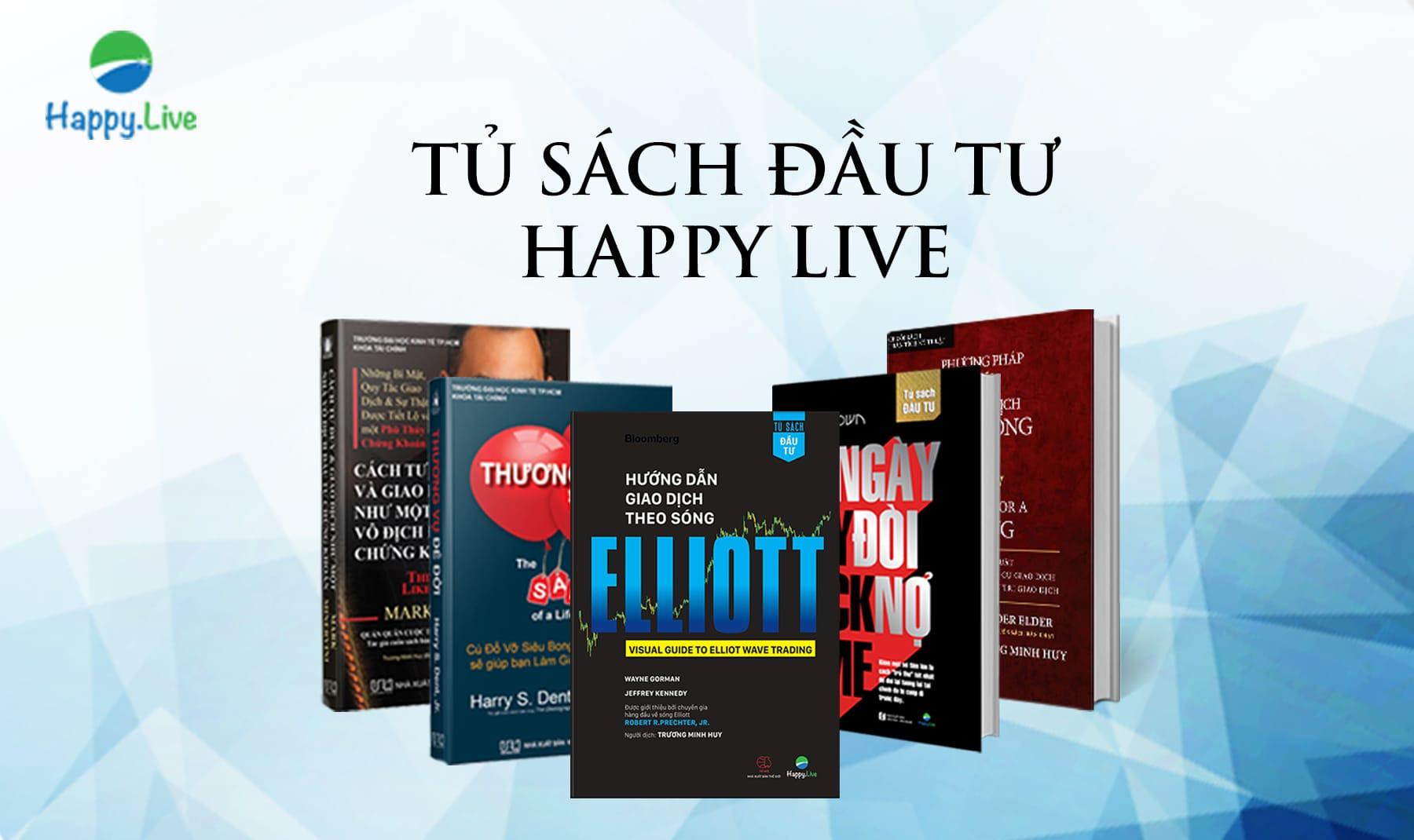 tủ sách đầu tư tài chính happy.live