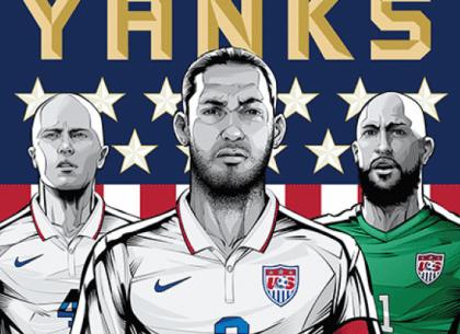 tuyển Mỹ phải xem World Cup qua truyền hình