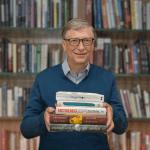 Bill Gates không chỉ đam mê kinh doanh mà còn rất yêu sách. Ảnh: Time