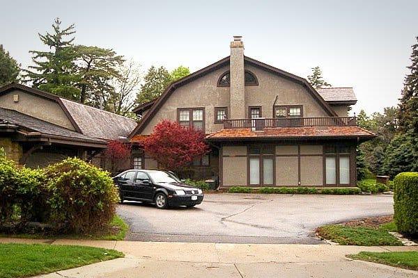 Căn nhà giản dị của gia đình Buffett