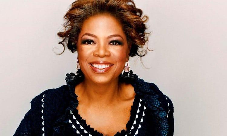 Nữ tỷ phú tự thân Oprah Winfrey
