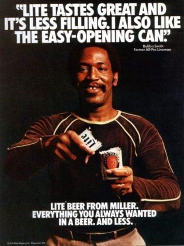 Chiến dịch Miller Lite: Great Taste, Less Filling