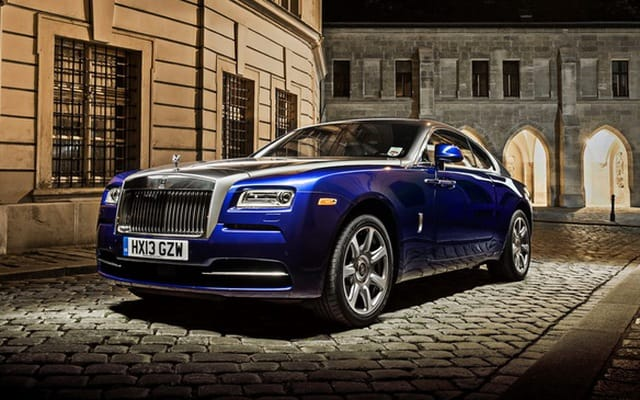 Rolls-Royce Wraith - chiếc xe gần với dòng thể thao nhất mà hãng từng sản xuất.