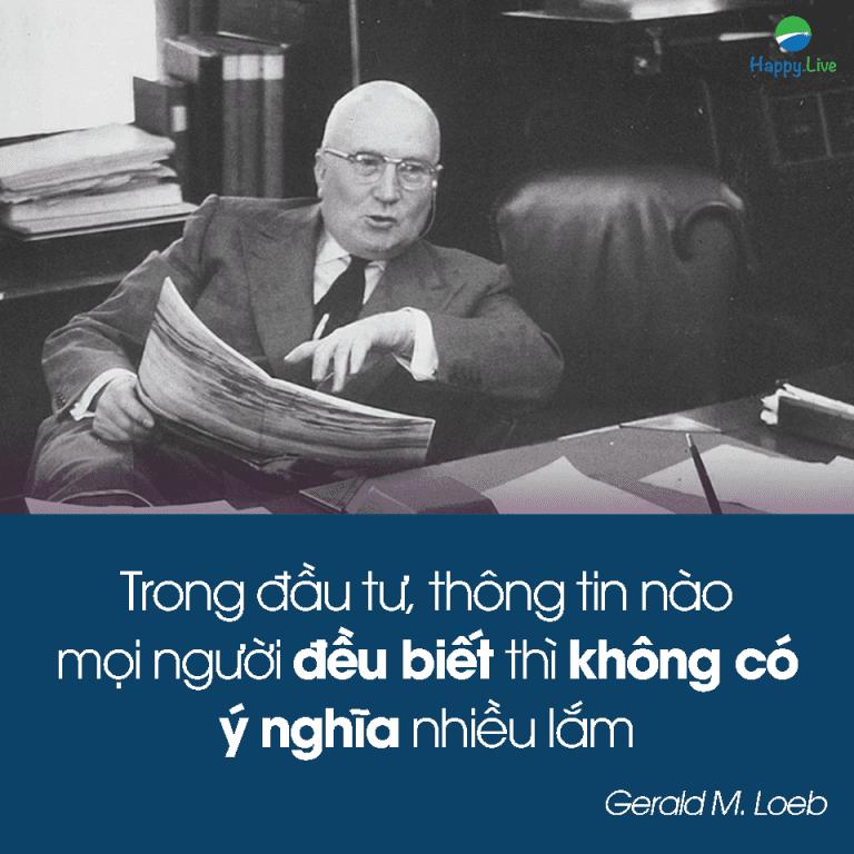 GERALD M. LOEB