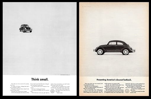 Chiến dịch Volkswagen: Think Small