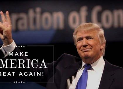 Hành trình phi thường trở thành tổng thống của Donald Trump