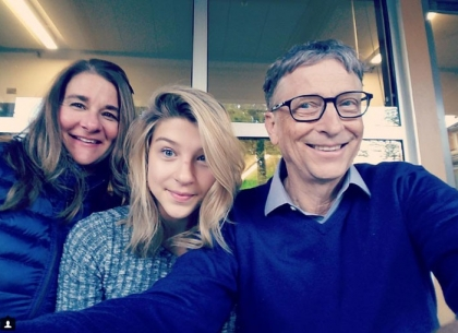 gia đình Bill Gates