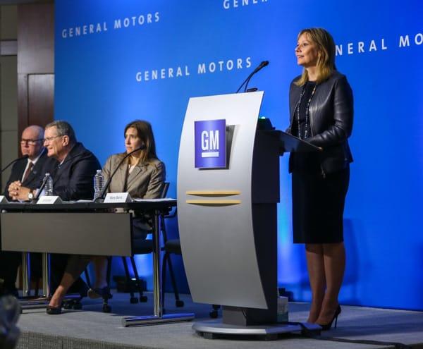 Bất chấp khó khăn, CEO Barra đã khôi phục lại được GM ngay khi lên nắm quyền vào năm 2014