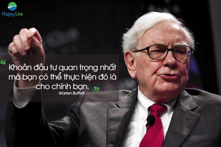 Câu nói của Warren Buffett