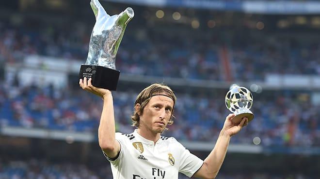 Luka Modric, một tiền vệ giàu kinh nghiệm của Real Madrid