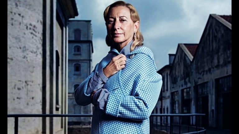 Muiccia Prada được giao trọng trách lèo lái tập đoàn Prada