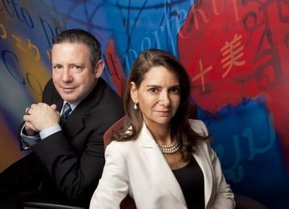 Phil Shawe và Liz Elting