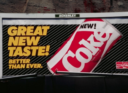 New Coke có thực sự là thảm họa của Coca-Cola ?