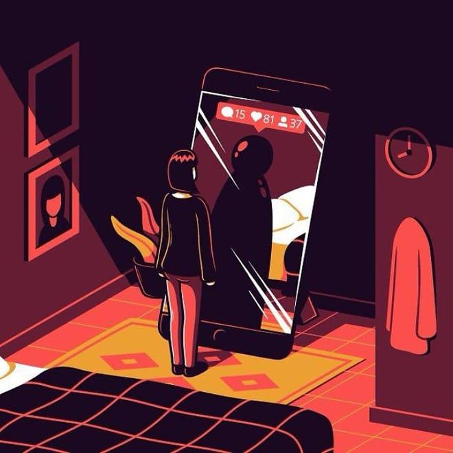 20 tranh minh họa thông minh, hóm hỉnh và không kém phần chua chát về thế giới hiện đại