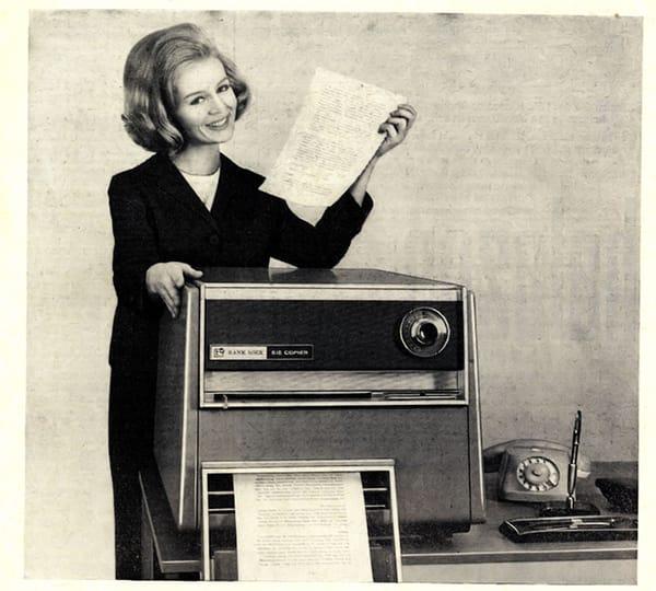 Không có một cổ phiếu nào nóng hơn cổ phiếu của Xerox vào những năm 60.