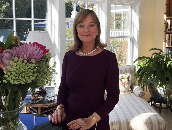 Chuyên gia nghi thức xã hội thành phố New York Patricia Napier-Fitzpatrick