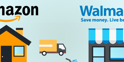 Bí quyết vận hành của Walmart và Amazon