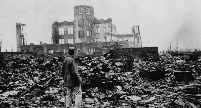Hiện trường vụ thả bom tại Nhật Bản