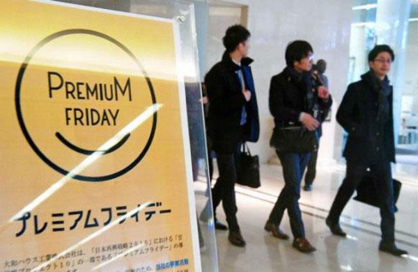 Chiến dịch premium friday được tiếp cận khá dè dặt tại Nhật