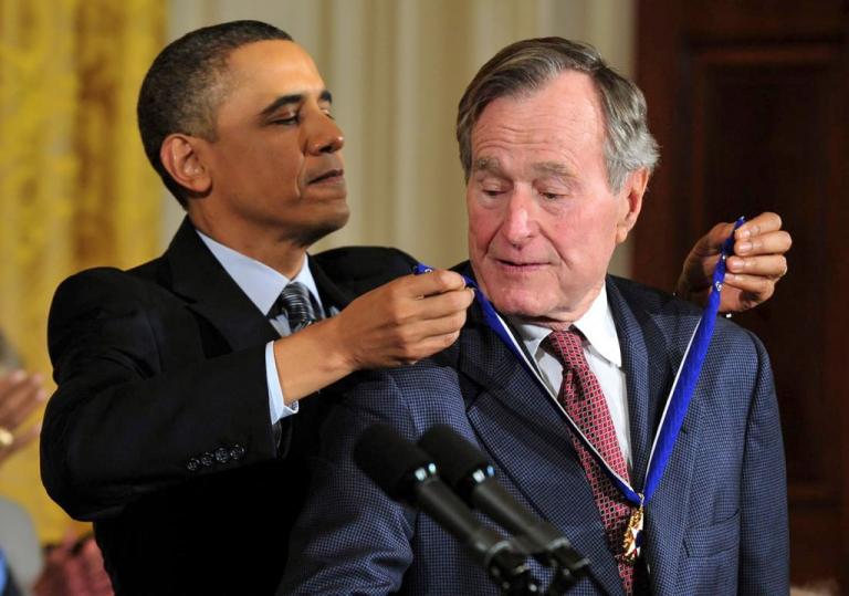 Ông được trao tặng huân chương tự do của tổng thống Mỹ