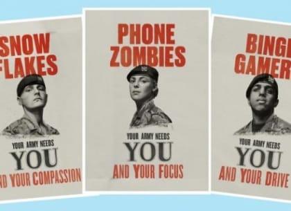 Chiến dịch truyền thông đầy sáng tạo của quân đội Anh nhằm chiêu mộ, tuyển quân