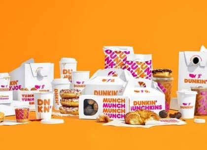Dunkin' Donut rút ngắn tên thành Dunkin' trong chiến dịch tái định vị toàn cầu