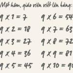 9×1=7: Hãy cứ sai đi vì cuộc đời cho phép