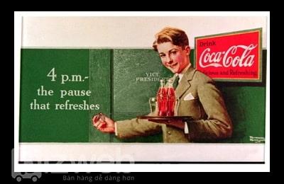 Những mẫu quảng cáo đầy tính sáng tạo của Coca cola qua các năm