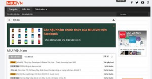 Các diễn đàn thảo luận về Xiaomi tại Việt Nam thu hút được rất nhiều người tham gia