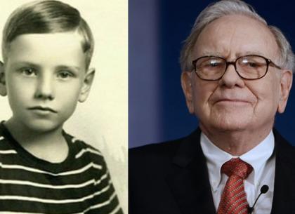 Warren Buffett kiếm tiền bằng lãi kép năm 7 tuổi