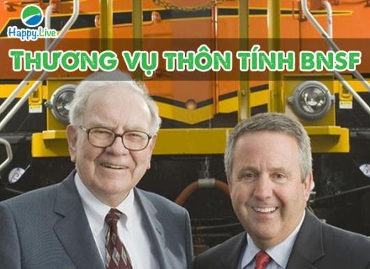 Warren Buffett và thương vụ thôn tính Burlington Northern Santa Fe (BNSF)