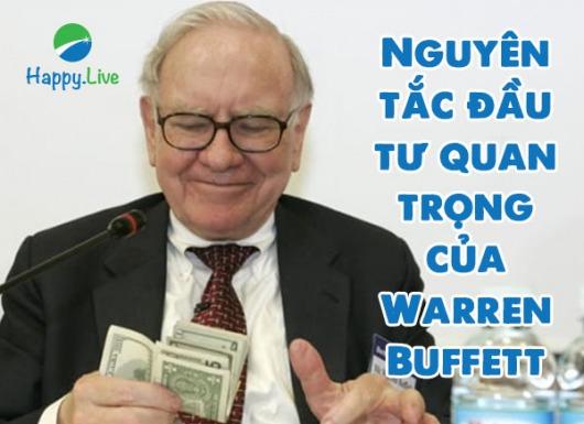 Nguyên tắc đầu tư quan trọng của Warren Buffett