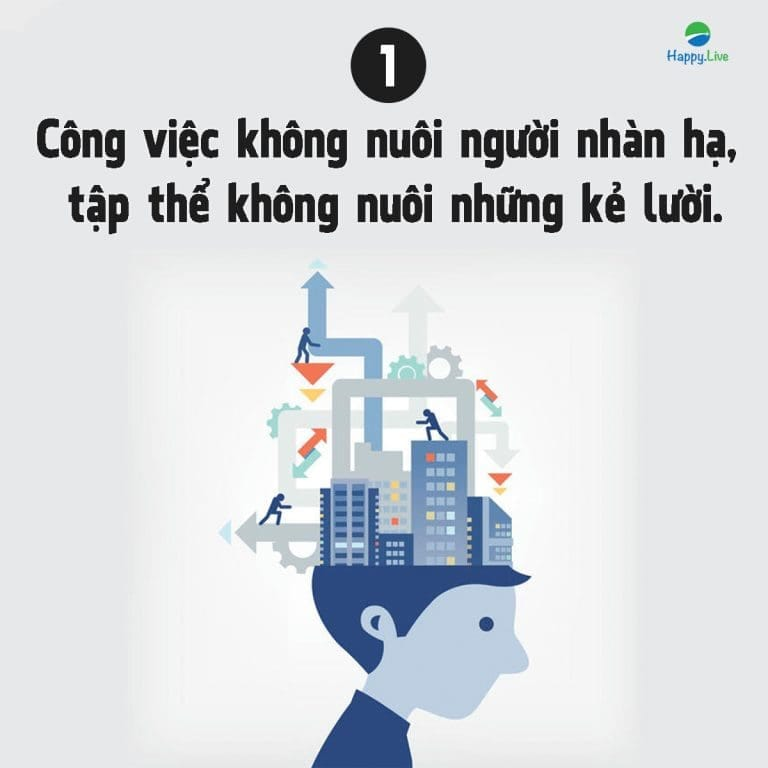 7 nguyên tắc sống còn khi đi làm