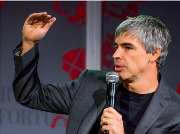 """Lawrence Edward """"Larry"""" Page là một nhà doanh nhân Mỹ, người đồng sáng lập ra công cụ tìm kiếm Google cùng với Sergey Brin."""