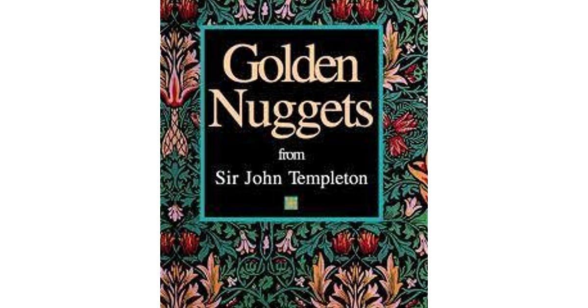 """Golden Nuggets From Sir John Templeton"", sách  John Templeton"