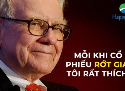 Warren Buffett: Giá cổ phiếu giảm là dịp mua vào
