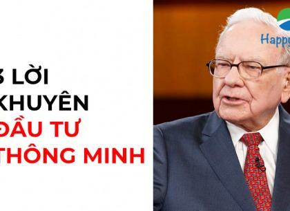 3 lời khuyên đầu tư thông minh nhất từ Warren Buffett