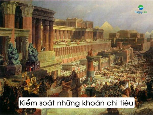 7 cách chữa trị 1 túi tiền rỗng, người giàu nhất thành Babylon