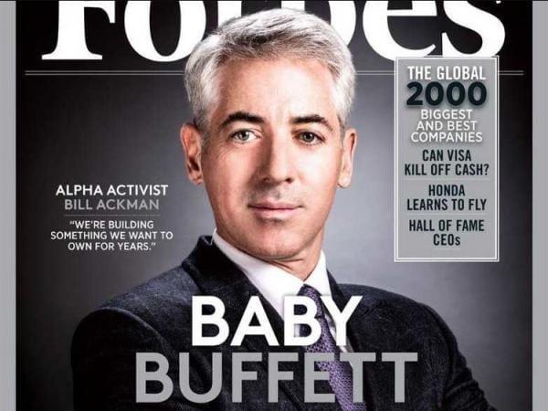 Bill Ackman bắt đầu từ bỏ các nguyên tắc cẩn trọng trong đầu tư.