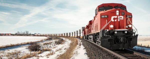 CP là công ty đường sắt hoạt động giữa Hoa Kỳ và xứ Canada.
