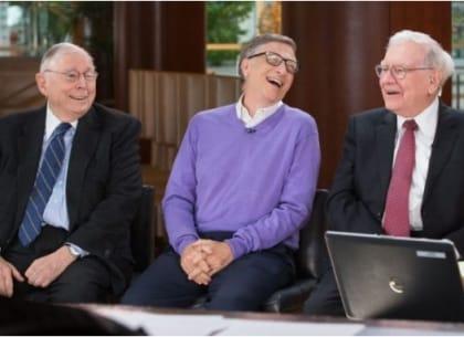 Warren Buffett, Bill Gates và Charlie Munger.