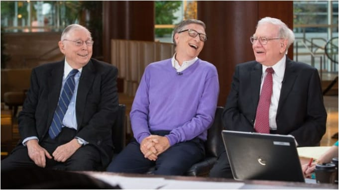 Warren Buffett, Bill Gates và Charlie Munger.