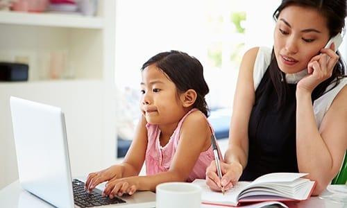 dung hòa giữa gia đình và công việc